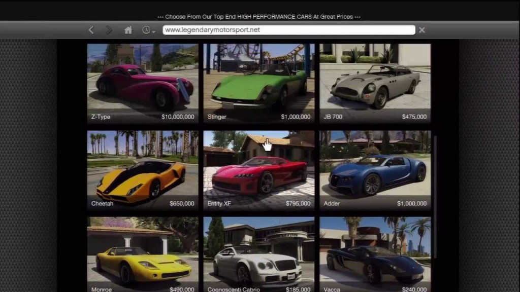 legendary motorsport gta 5