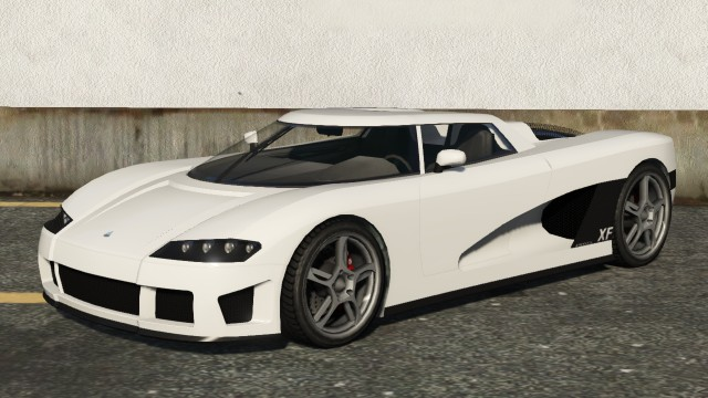 Entity XF GTA 5