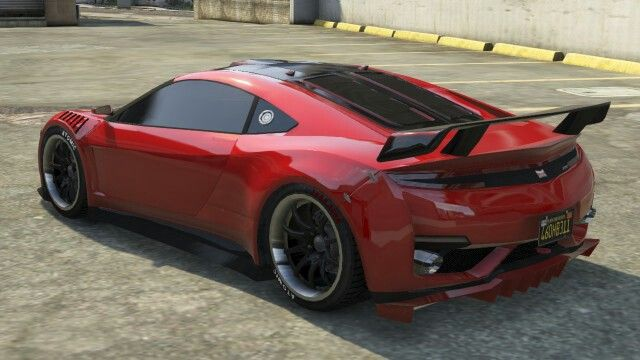 Dinka Jester GTA 5 Rear