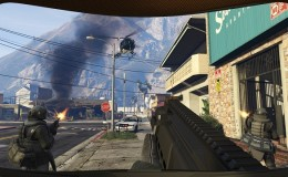 GTA 5 First Person Mode