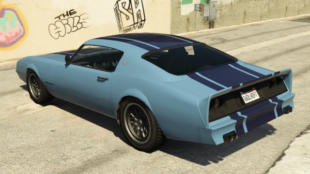 Imponte Phoenix GTA 5 Rear