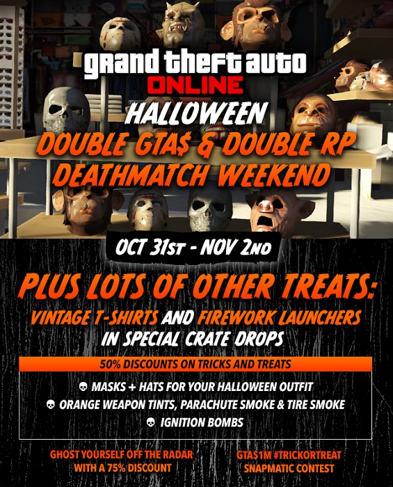 gta 5 halloween event