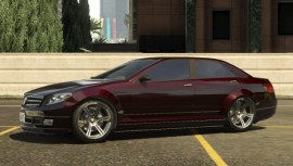 Dark Red Benefactor Schafter Side