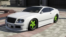 Enus Cognoscenti Cabrio Green Rims