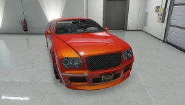 Enus Cognoscenti Cabrio Orange Front View