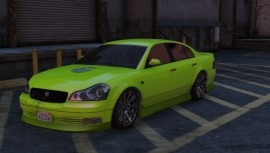 Green Karin Intruder Front View