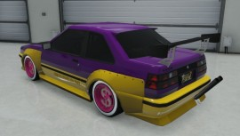 Karin Futo GTA 5 Custom Rear