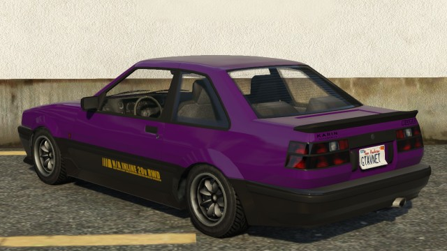 Karin Futo GTA 5 Rear