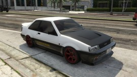 Karin Futo Tuning Front view
