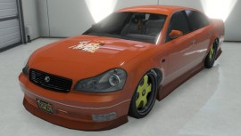 Karin Intruder Orange with Yellow Rims