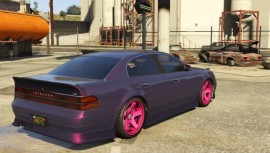Karin Intruder Purple and Pink Rims