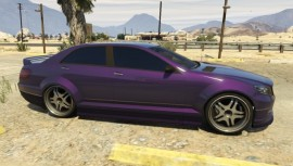 Purple Benefactor Schafter side