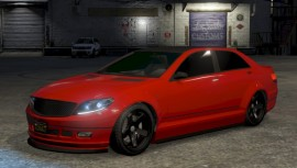 Red Benefactor Schafter Custom
