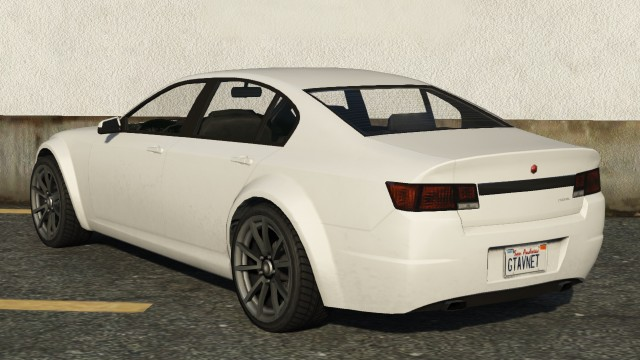 White Cheval Fugitive Rear View
