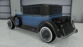 Albany Roosevelt Blue Rear