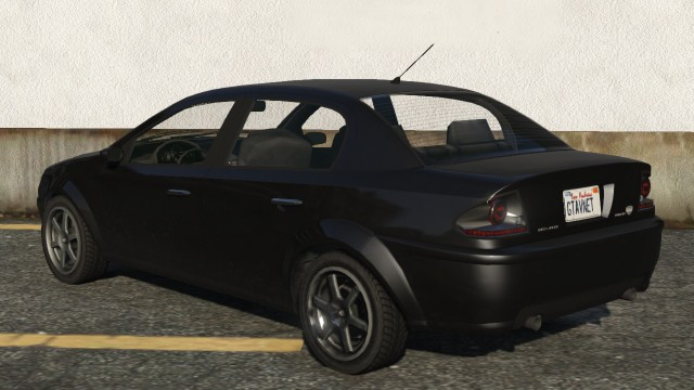 Black Declasse Premier Rear GTA 5