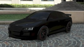 Black Obey Tailgater Front View