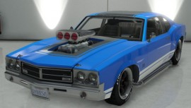 Blue Sabre Turbo GTA 5 Custom