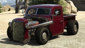 Bravado Rat-Truck Dark Red Front