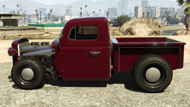Bravado Rat-Truck Dark Red Side