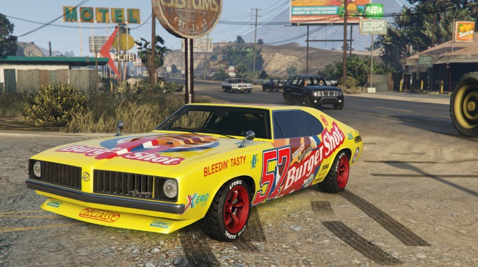 Burger Shot Stallion GTA 5 Front