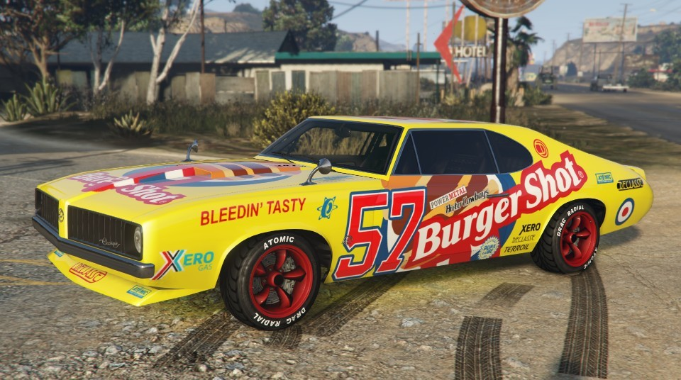Burger Shot Stallion GTA 5 Side