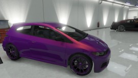 Custom Dinka Blista Purple Paint Job