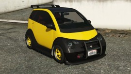 Custom Panto Yellow Front