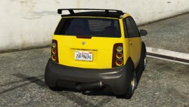 Custom Panto Yellow Rear
