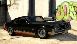 Declasse Stallion Modded GTA 5 Side