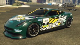 Dewbauchee Massacro Racecar Dark Green