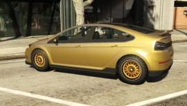 Gold Cheval Surge Custom Side