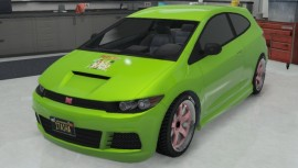 Green Dinka Blista Paint Job