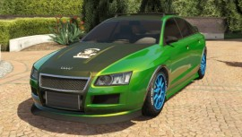 Green Obey Tailgater Modded Front