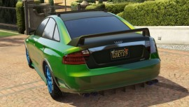 Green Obey Tailgater Modded Rear