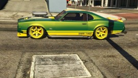 Green Sabre Turbo GTA 5