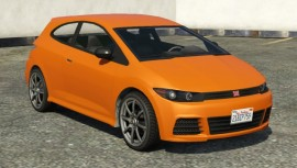Orange Dinka Blista Front View