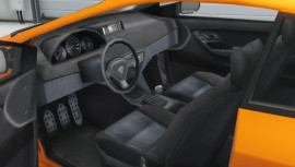 Orange Dinka Blista Interior