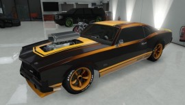 Orange Sabre Turbo with Supecharger