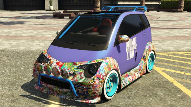 Gta 5 Car Stickers
