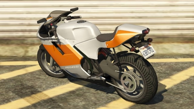 Pegassi Bati 801 Rear View