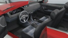 Red Lampadati Felon GT Interior