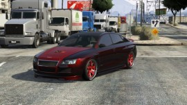 Red Pearlescent Obey Tailgater Front