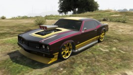 Sabre Turbo GTA 5 Custom Paintjob