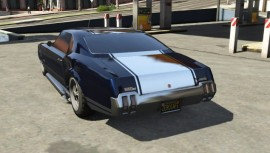 Sabre Turbo GTA 5 Custom Rear