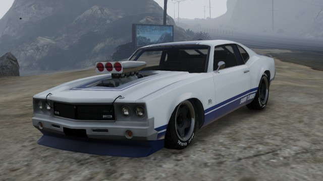 White Sabre Turbo with Supecharger