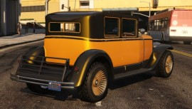 Yellow Albany Roosevelt Rear