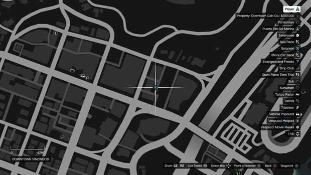 29 Downtown Vinewood monkey mosaic map