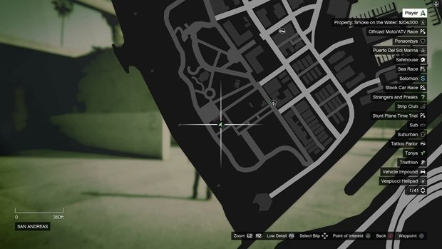 San Andreas monkey mosaic map