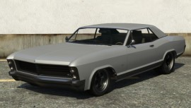 Albany Buccaneer GTA 5 Front View